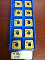 Valenite SNMG120416LM SNMG434LM SV235 Indexable Carbide Turning Inserts Qty. 10