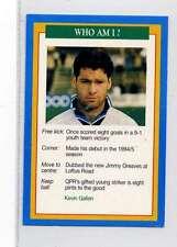 (Jm887-100) RARE,Q.O.S Who Am I ,Kevin Gallen ,Soccer 1994 MINT