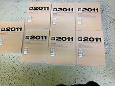 2011 Chevy Silverado TRUCK GMC Sierra Denali Service Shop Repair Manual Set