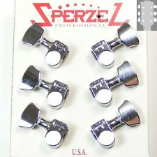 Sperzel Solid Pro Tuners/machine heads, 3x3 Chrome