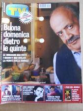TV Sorrisi e Canzoni n°45 2002 Maurizio Costanzo Asia Argento Pandolfi  [D54]