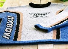Vintage OXBOW Sweater. Size Medium, like NEW (Ski, Skate, 1996). VERY GOOD COND
