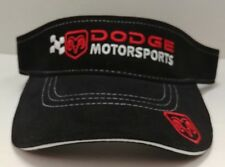 Dodge Motorsports Nascar Visor by Drew Pearson Racing Free Ship