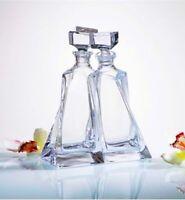 Decanter Pair Crystal Lovers 500ml Wedding Birthday Housewarming Gift