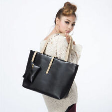 Women PU Leather Tote Shoulder Bags Hobo Handbags Satchel Messenger bag Purse SS