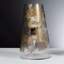 Lampada da comodino moderna Mod.babette di Emporium Ø18 H32 cm colore DECORO Oro