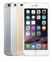 "Apple iPhone 6 Plus 5.5"" 16 64 128GB Factory Unlocked Gray Silver Gold Dual Core"