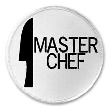 "Master Chef - 3"" Sew / Iron On Patch Cook Kitchen Cooking Funny Joke Humor Gift"