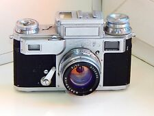 VERY RARE Kiev 3A Soviet Rangefinder Film Camera Contax Clone w/s Jupiter-8M EXC