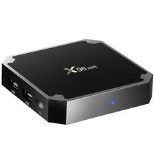 US Plug 2GB+16GB X96 Mini Amlogic S905W Android 7.1.2 TV Box 4K VP9 H.265