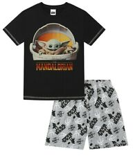 Kids Star Wars Disney The Mandalorian The Child Baby Yoda  Short Cotton Pyjama