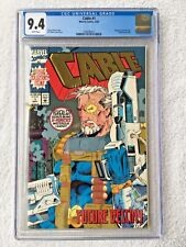 CGC 9.4 CABLE #1 .. DEADPOOL MOVIE .. 1993 ..
