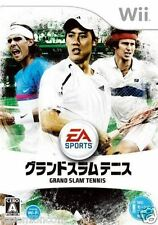 Used Wii Grand Slam Tennis NINTENDO JAPAN JP JAPANESE JAPONAIS IMPORT