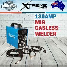 Portable 130Amp MIG Gasless Welder Welding Machine Kit Flux No Gas Profession