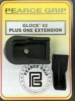 Pearce Grip For Glock 42 Plus One Grip Ext PG-42+1 SAME DAY FAST FREE SHIPPING