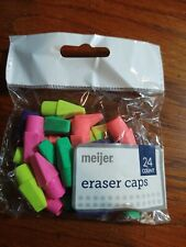 School Erasers - 24 Pack of Pencil Top & 7 pack Set - New