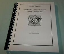 Educational Radionics Workbook & General Information by Caroline Connor