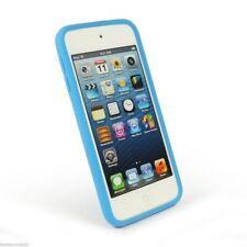 Tuff-Luv iPod Touch 5 G 5th Génération Silicone Gel Case & Protecteur d'écran Bleu
