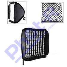 "Phot-R 50cm/20"" Studio Softbox Diffuser Photo Hotshoe Flash Honeycomb Grid"