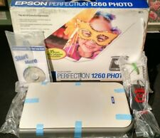Epson perfection 1260 Photo Scanner complete with all accessories
