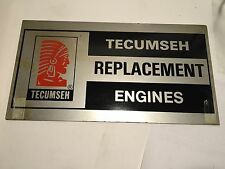 Vintage Tecumseh Replacement Engine Sign