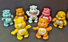 7 VINTAGE AMERICAN CARE BEAR PVC POSEABLE FIGURE Grams Bedtime Birthday Sunshine