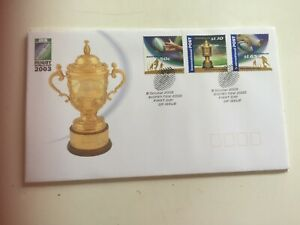 Australia First day cover 2003 Rugby world cup Sydney 2000