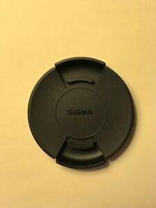 GENUINE Sigma 62mm SNAP ON LENS CAP Japan Made Model LCF62III