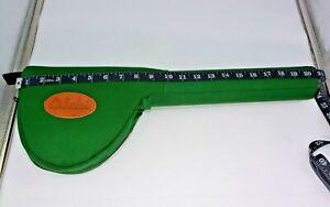 "Cabela's Green 21"" L x 2-1/2"" D Hard Tube Fly Rod & Reel Carring Travel Case"