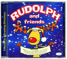 RUDOLPH AND FRIENDS CD  (RED NOSED REINDEER) 20 KIDS XMAS SONGS *NEW & WRAPPED*