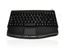 Accuratus 540 Mini+ Wired USB Keyboard with Touchpad Black Excellent Condition