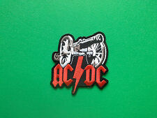 HEAVY METAL PUNK ROCK MUSIC FESTIVAL SEW ON / IRON ON PATCH:- AC/DC (-)