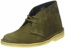 Clarks Originals Olive Green Suede Leather Classic Desert Boot Rubber Crepe Sole