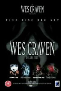 The Wes Craven Collection 5-Disc Dvd Brand New & Factory Sealed (2004)
