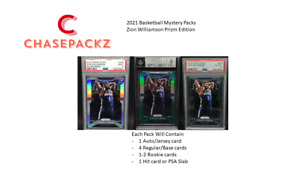 Zion Williamson 2019-2020 PRIZM EDITION ROOKIE CHASE PACK!