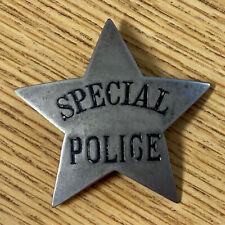 Soo Line Railroad Special Police Obsolete Star Badge (Badge #11)