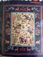 RARE Huntsmen Tapestry Needlepoint Kit Timothy Glenn Dimensions sealed