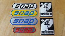 Soap Shoes Grind Shoes Vinyl Stickers Team Relate Inline Heelys Skate 90's Sonic