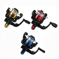 Yumoshi Jl200 Electroplating Fishing Reel Gear Ratio 5.1: 1 Spinning Reel W T2H2