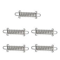 5pcs High Strength Stainless Steel Camping Awning Tent Rope Tensioner Spring