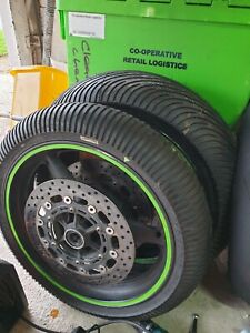 R6 5eb Brand New Wets on Wheels