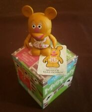 """Disney Vinylmation 3"""" Park Set 1 Muppets Fozzy Fozzie Bear with Card and Box"""