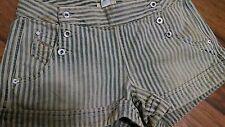 Diesel Lowlita  denim shorts stripe denim size 29