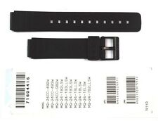 CASIO WATCH BAND: 71604416  BAND FOR MQ-24 Black Resin Band
