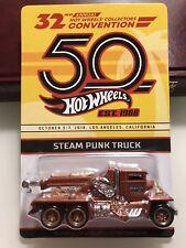 "2018 Hot Wheels 32nd Convention ""Dinner Car"" Steam Punk Truck"