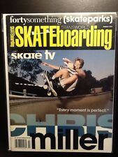 Chris Miller Planet Earth March 1991  Skateboard Magazine