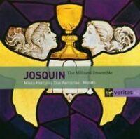 Hilliard Ensemble - Josquin Des Prez (NEW 2 x CD)