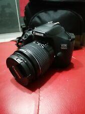 Reflex Canon Eos 1300D, Black, Usato da pochi mesi, come nuovo.