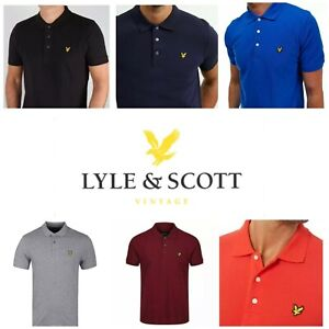Lyle and Scott  Men's Short Sleeve Polo Shirts -Tipping & Solid collar