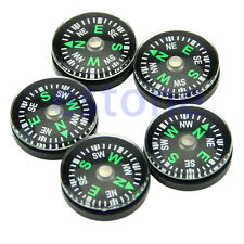 5Pcs 20mm Button Shape Small Mini Survival Compasses For Outdoor Hiking Camping